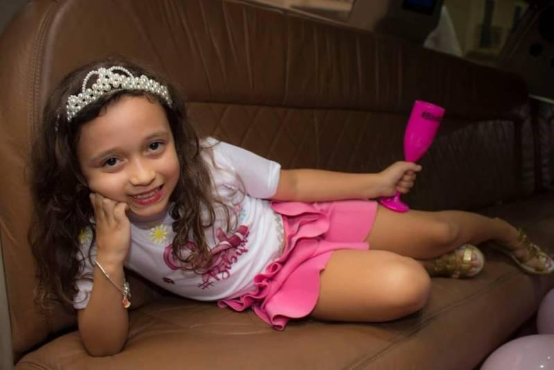 Empresa de Locação de Limousine de Festa Vila Esmeralda - Locação de Limousine para Dia de Princesa