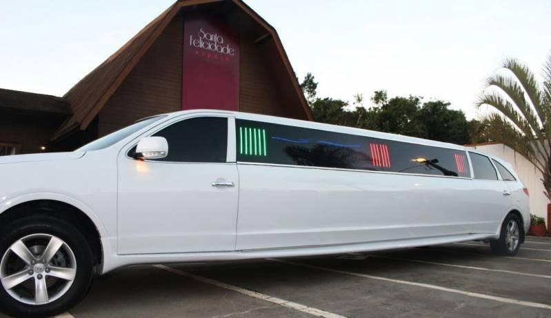 Empresa de Locação de Limousine para Festa Infantil Jardim São Manoel - Locação Limousine Preta para Casamento