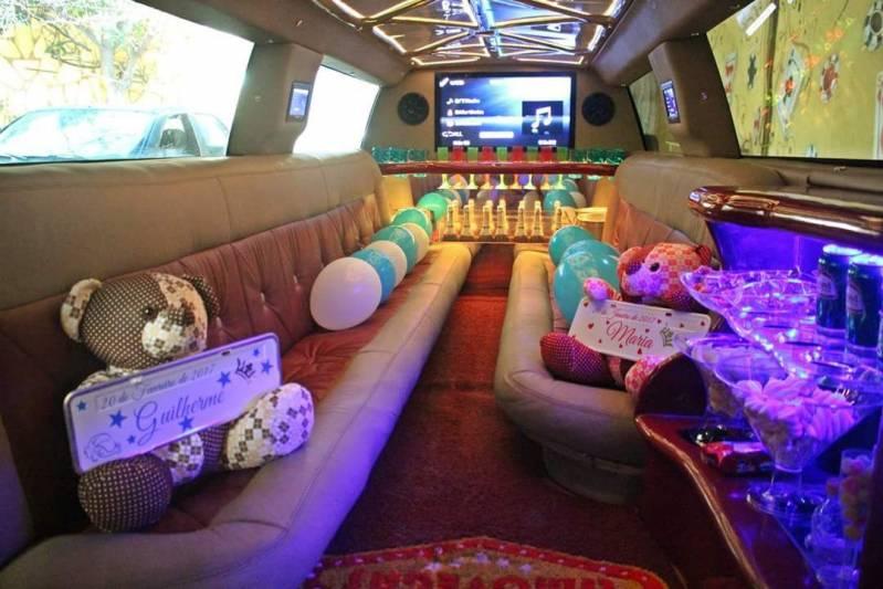 Locação de Limousines Preço Chácara do Bom Conselho - Carro Limousine para Noivas