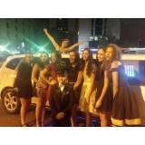 aluguel de limousine de festa quanto custa no Jardim Mário Fonseca