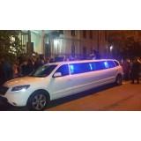 Aluguel de limousine para balada preço em Itapira