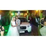 Aluguel de limousine para casamento no Jardim do Divino