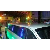 Aluguel de limousine para casamento preço acessível em Taiuva