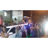 Aluguel de limousine para casamento preço acessível na Vila Cleonice