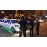 Aluguel de limousine para casamento preço acessível na Vila União