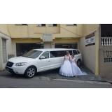 Aluguel de limousine para casamento preço na Chácara Santo Hubertos