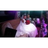 Aluguel de limousine para casamento quanto custa na Vila Ermelinda