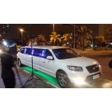 Aluguel de limousine para casamento quanto custa na Vila Francisco Mendes