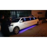 Aluguel de limousine para casamento valor acessível em Chavantes