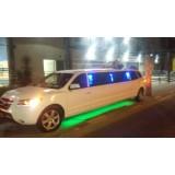 Aluguel de limousine para casamento valor acessível na Água Azul