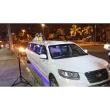 Aluguel de limousine para casamento valor acessível na Chácara do Rosário