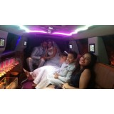 Aluguel de limousine para casamento valor acessível na Chácara Monte Sol