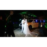 Aluguel de limousine para casamento valor em Cangaíba