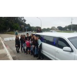 Aluguel de limousine para eventos onde encontrar na Vila Santana