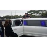 Aluguel de limousine para eventos onde encontrar no Jardim dos Francos