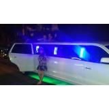 Aluguel de limousine para eventos quanto custa no Jardim Nova Vitória