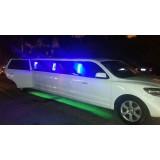 Aluguel de limousine para eventos valor no Jardim João XXIII