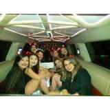 aluguel de limousine para festa