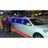 Aluguel de limousines onde localizar na Vila Santa Cruz