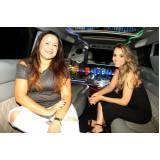 aluguel de limousines para festa