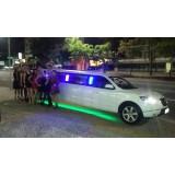 Aluguel de limousines preço na Chácara Figueira Grande