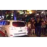 Aluguel de limousines valor em Caxingui