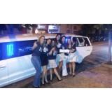 Aluguel de limousines valor na Vila Ramos