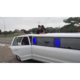 Aluguel de uma limousine em Boaçava