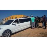 Aluguel de uma limousine melhor preço na Chácara São Luiz