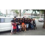 Aluguel de uma limousine melhor preço na Vila Sá e Silva