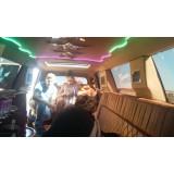Aluguel de uma limousine menor preço na Vila Reis