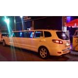 Aluguel de uma limousine onde contratar na Chácara Monte Alegre