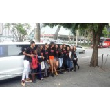 Aluguel de uma limousine onde encontrar na Vila Santa Cruz