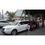 Aluguel de uma limousine onde localizar na Vila Taquari
