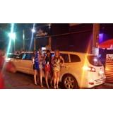 Aluguel de uma limousine preço em Guararapes