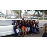 Aluguel de uma limousine preço na Vila Melo