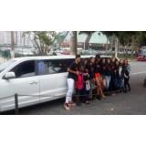 Aluguel de uma limousine quanto custa na Vila Chica Luisa