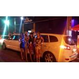 Aluguel de uma limousine quanto custa na Vila Santa Eulalia