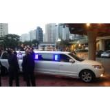 Aluguel limousine menor preço no Jardim Analícia