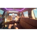 Aluguel limousine menor preço no Jardim Ruth