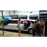 Aluguel limousine na Vila Santos
