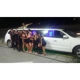 Aluguel limousine onde contratar na Vila Santo Estevão