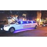 Aluguel limousine onde encontrar na Vila Olga