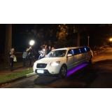 Aluguel limousine onde encontrar no Jardim Santa Francisca