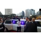 Aluguel limousine onde localizar na Vila Londrina