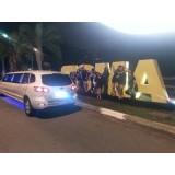 Aluguel limousine preço acessível na Vila Invernada