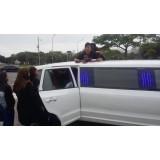 Aluguel limousine preço em Água Rasa