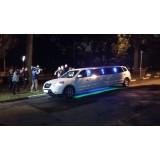 Aluguel limousine quanto custa na Chácara Santa Maria