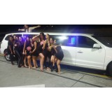 Aluguel limousine valor acessível em Novo Horizonte