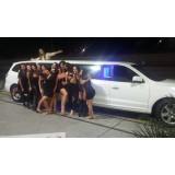 Aluguel limousine valor acessível no Barro Branco